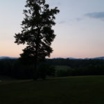 Mountain views in Dahlonega